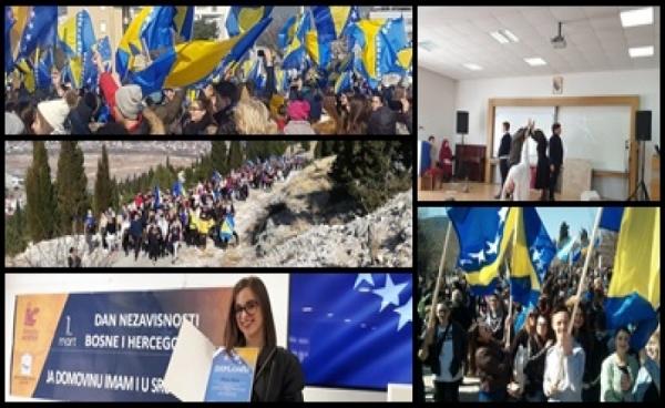Sretan Dan nezavisnosti jedne nam jedine Bosne i Hercegovine!